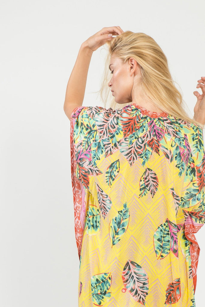 Decotropic Long Kimono - Kimono - MODE Revolution -Sustainable Fashion