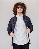 Paramo Reversible Jacket - Dark - Denim Jacket - MODE Revolution -Sustainable Fashion