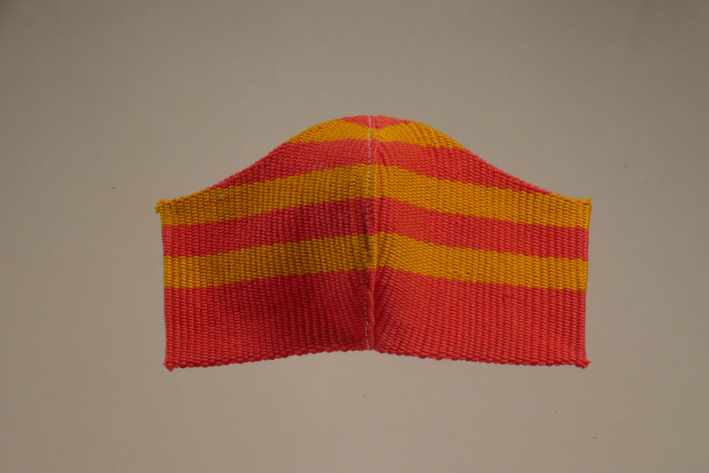 Artisan Cover-Up Red/Yellow -  - MODE Revolution -Sustainable Fashion