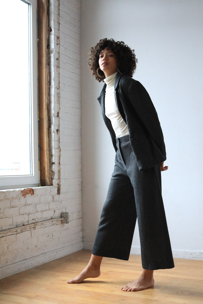 Durga Pant, Recycled Wool - pant - MODE Revolution -Sustainable Fashion