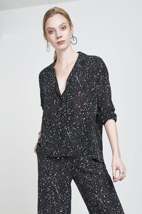 Blouse Ely Star Print -  - MODE Revolution -Sustainable Fashion