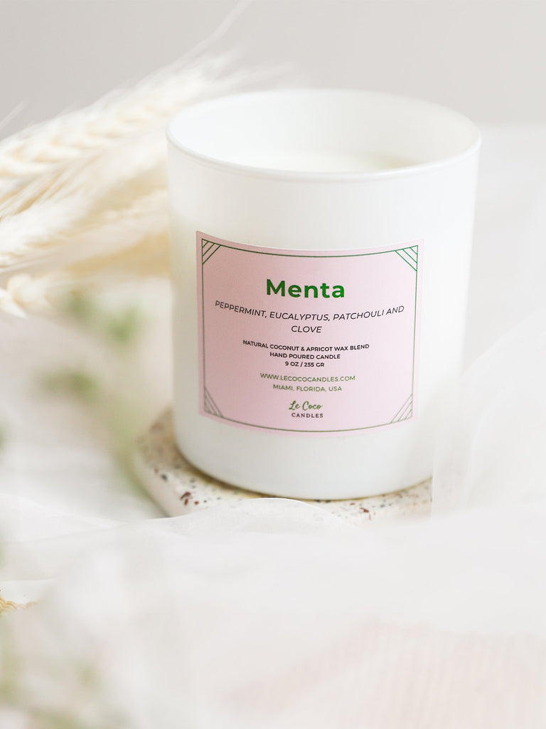 Menta - candle - MODE Revolution -Sustainable Fashion