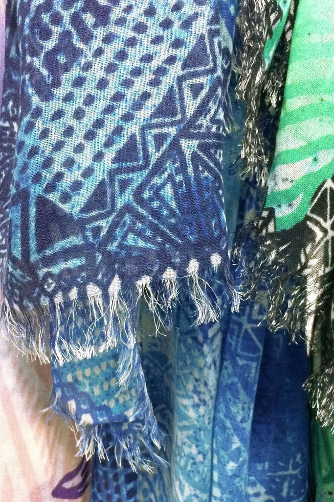 Royal Seaweed Scarf - Sarong - MODE Revolution -Sustainable Fashion
