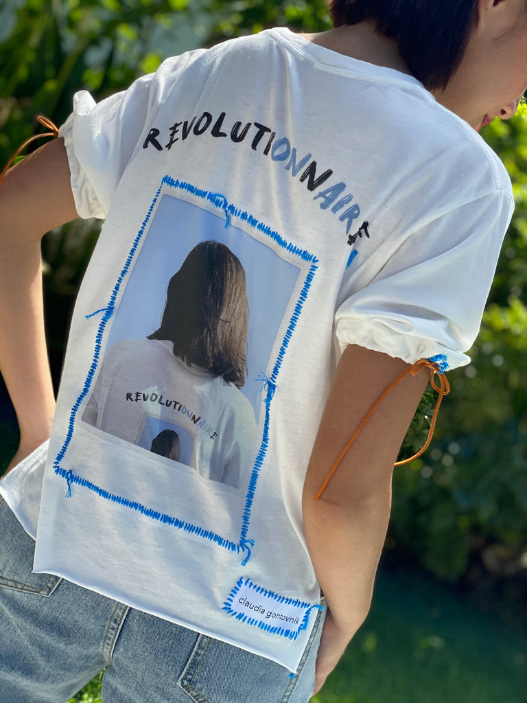 A Revolutionnaire's T-Shirt (Royal Blue) -  - MODE Revolution -Sustainable Fashion