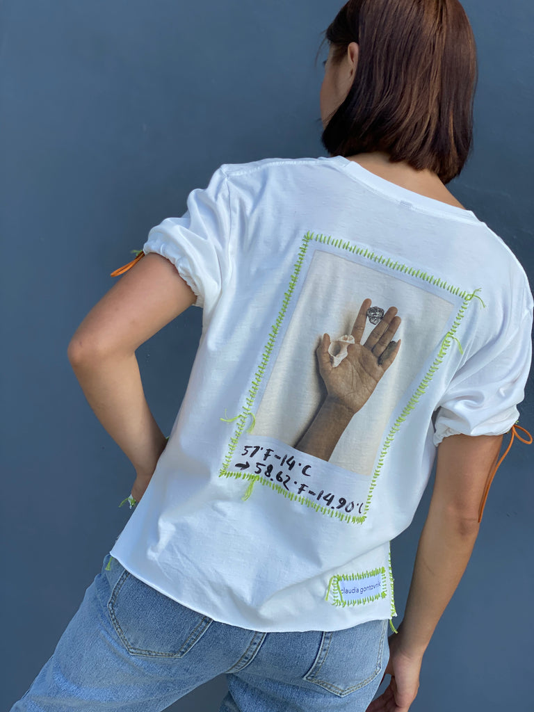 The Time is Now T-Shirt (Neon Green) -  - MODE Revolution -Sustainable Fashion