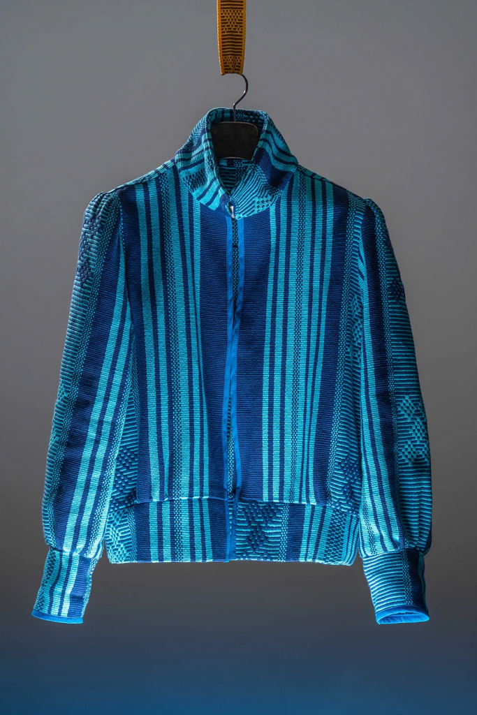 Manduko Jacket Blue -  - MODE Revolution -Sustainable Fashion