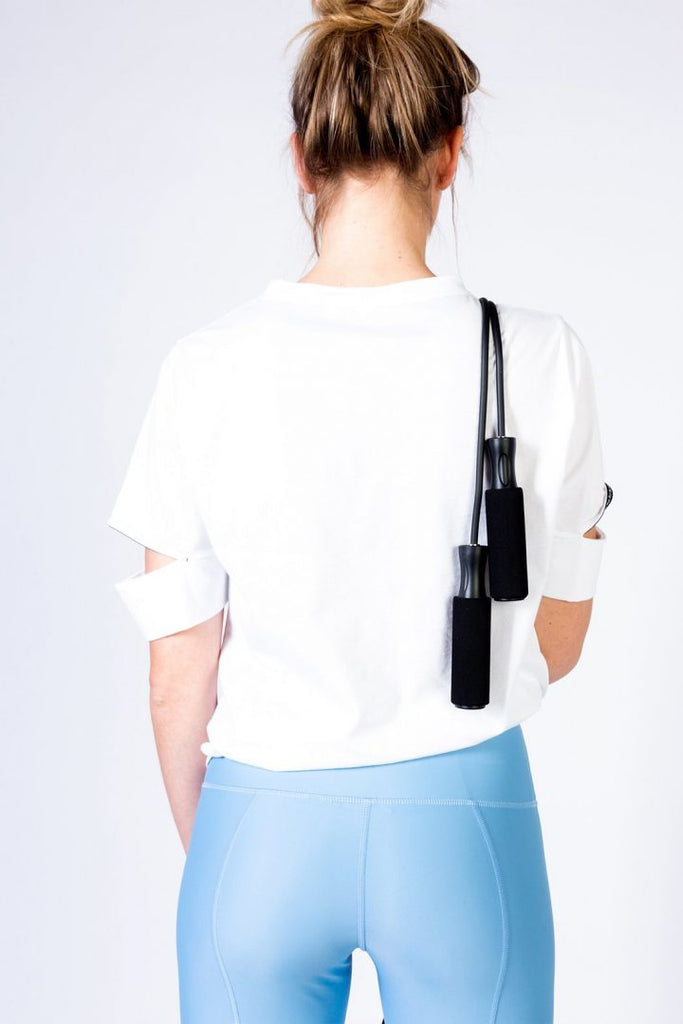 Yattou White - T-shirt -  - MODE Revolution -Sustainable Fashion