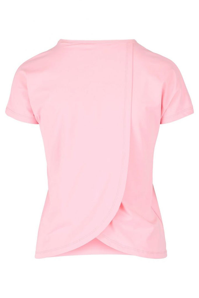 Susan Pink- T-shirt with open back -  - MODE Revolution -Sustainable Fashion