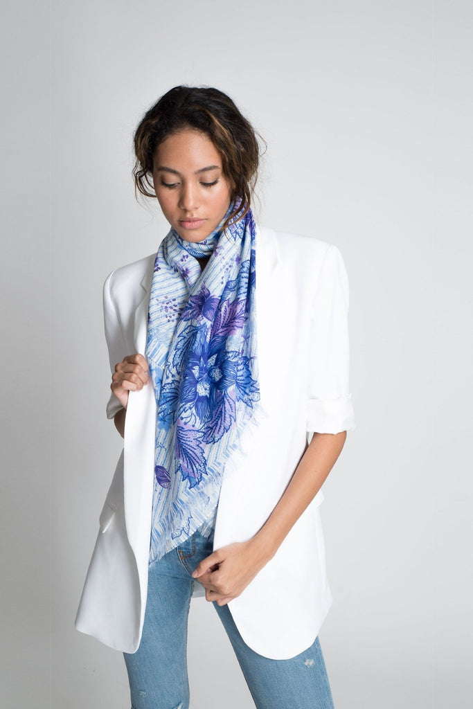 Purple Queen Sarong Scarf - Sarong - MODE Revolution -Sustainable Fashion