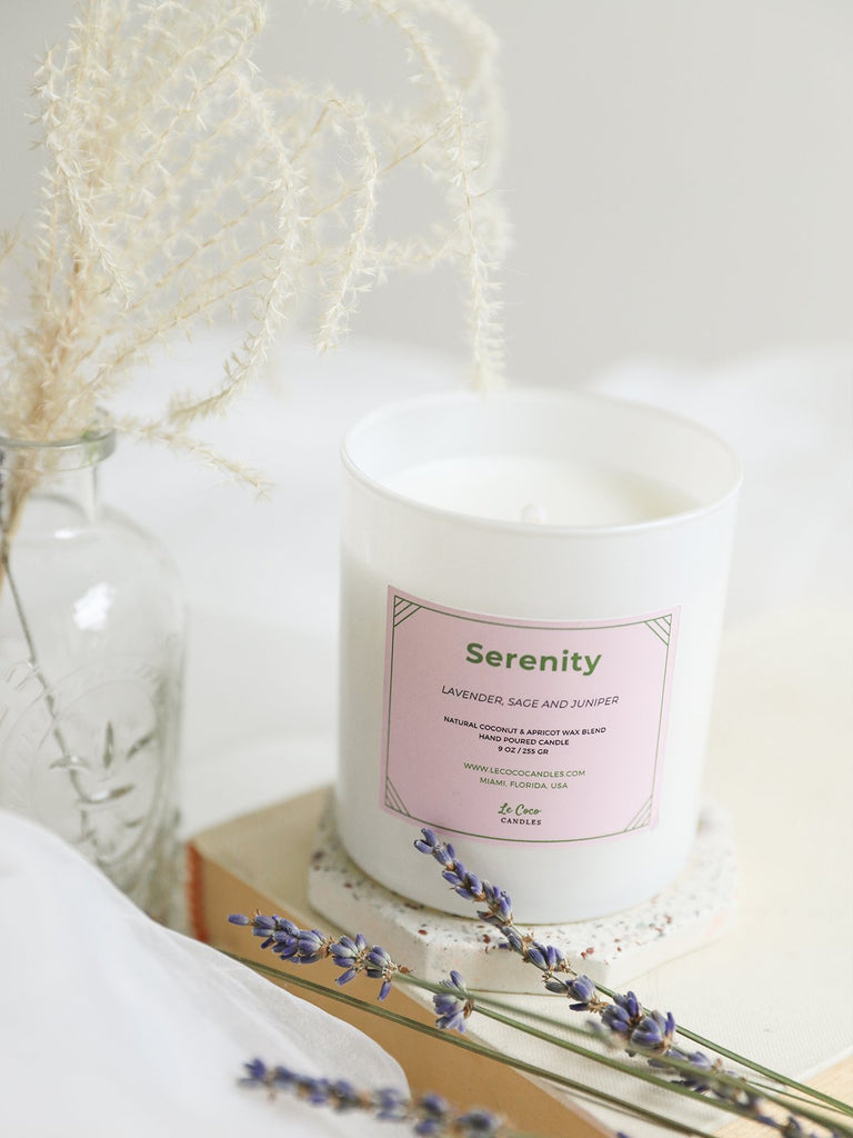 Serenity - candle - MODE Revolution -Sustainable Fashion