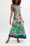 Aquaria Wrap Maxi Skirt - Wrap Maxi Skirts - MODE Revolution -Sustainable Fashion