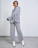 Knit Jumper SONA Grey Melange -  - MODE Revolution -Sustainable Fashion
