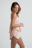 Cami Ruffle Short Set - Sunrise - Short Set - MODE Revolution -Sustainable Fashion