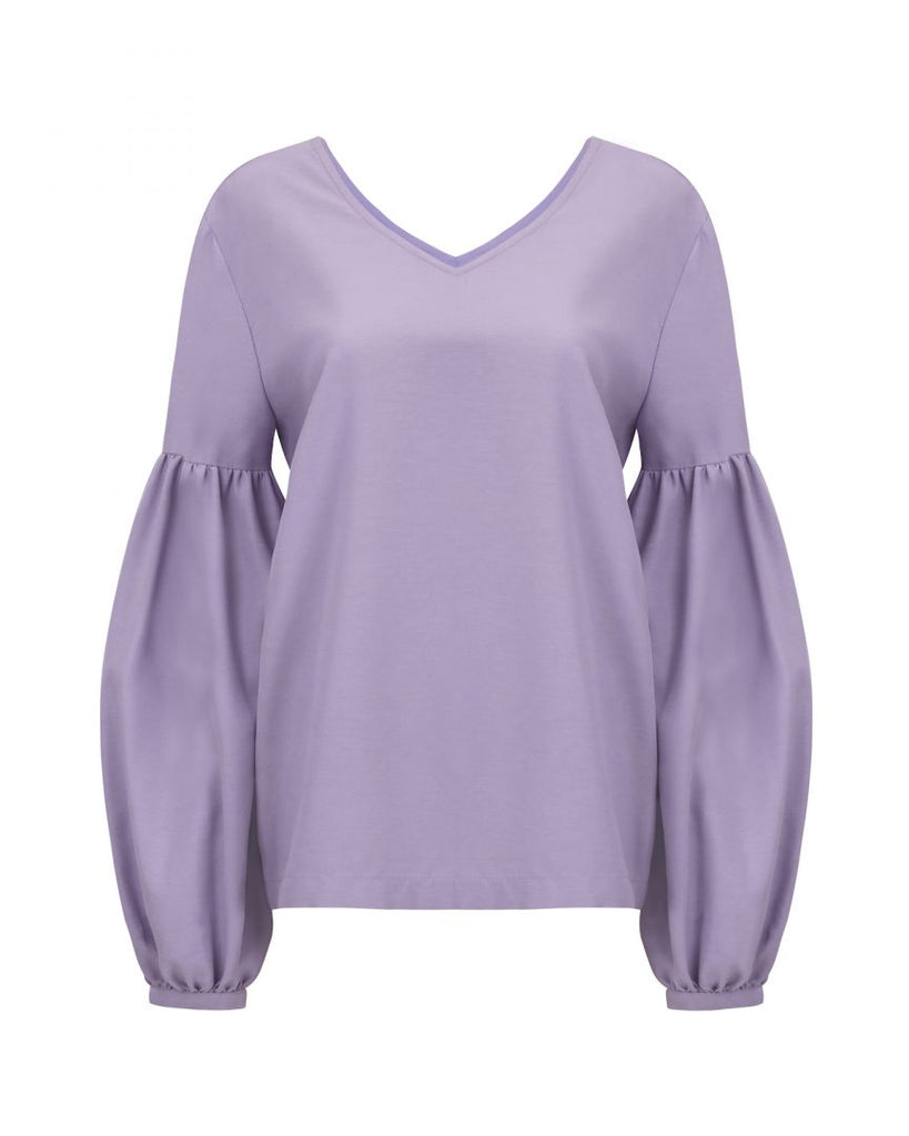 Blouse Vincenza Lilac -  - MODE Revolution -Sustainable Fashion