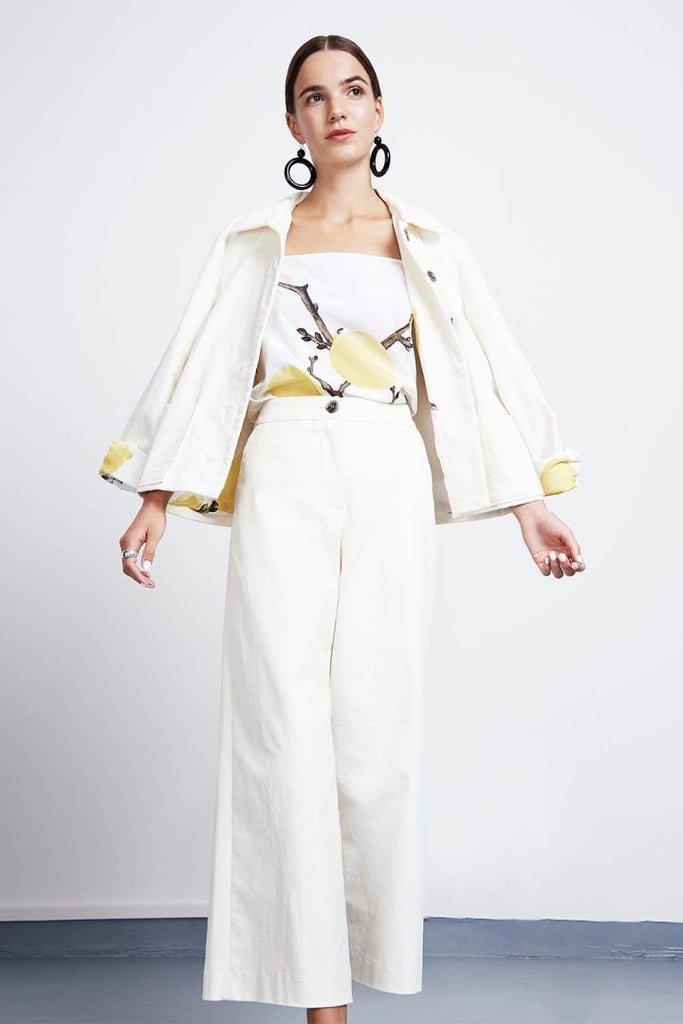 Work Jacket Kaori White -  - MODE Revolution -Sustainable Fashion
