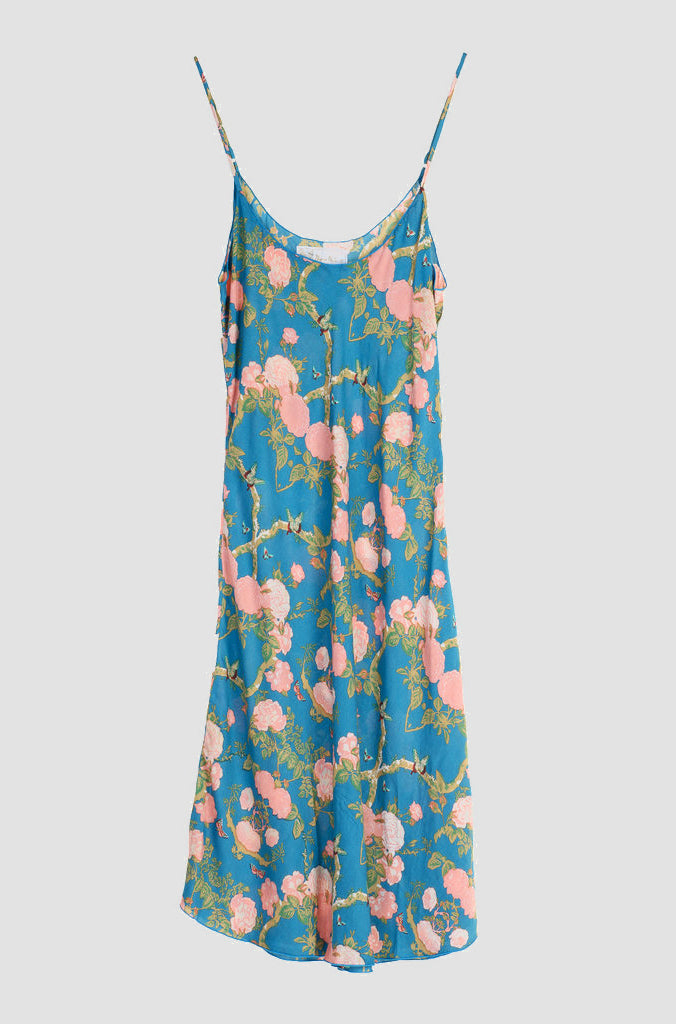 Flirty Dress Floral Blue -  - MODE Revolution -Sustainable Fashion