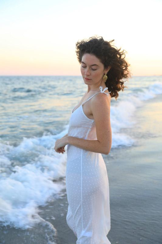 Milk Slip Dress, 100% Milk Fabric - dress - MODE Revolution -Sustainable Fashion