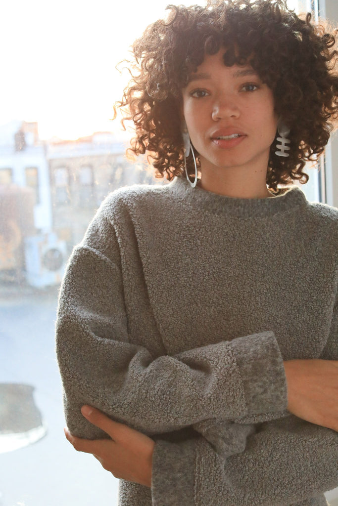 Mercury Sweater, Recycled Wool - sweater - MODE Revolution -Sustainable Fashion