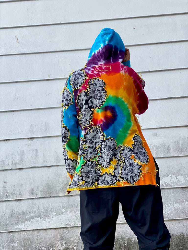 Bazinga Tie Dye Sweatshirt -  - MODE Revolution -Sustainable Fashion