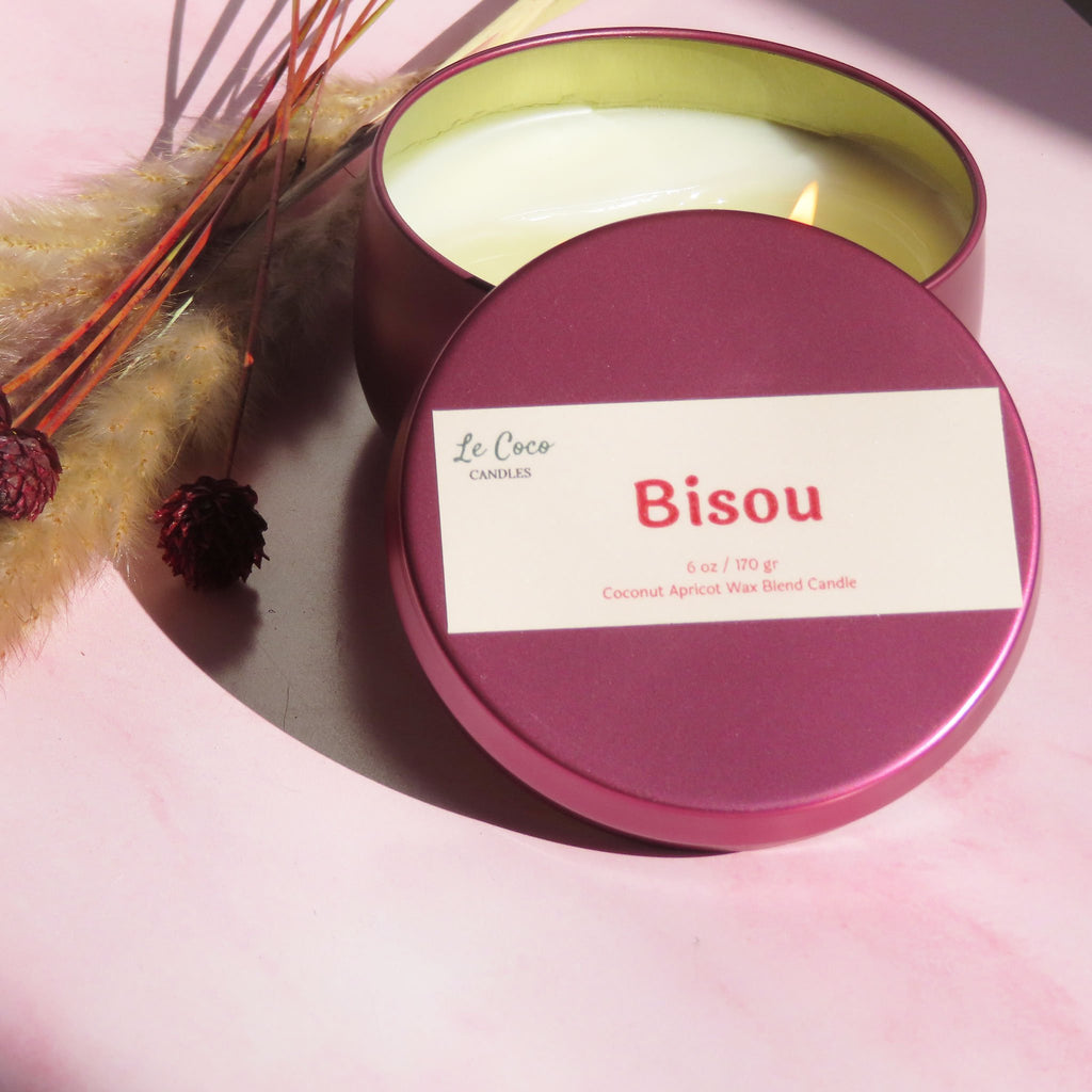 Bisou - candle - MODE Revolution -Sustainable Fashion