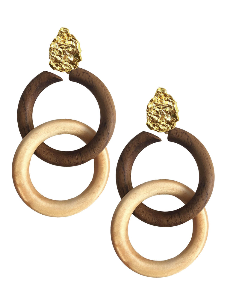 Connection Earrings - Earrings - MODE Revolution -Sustainable Fashion