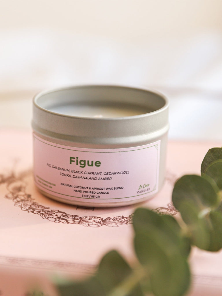 Figue - candle - MODE Revolution -Sustainable Fashion