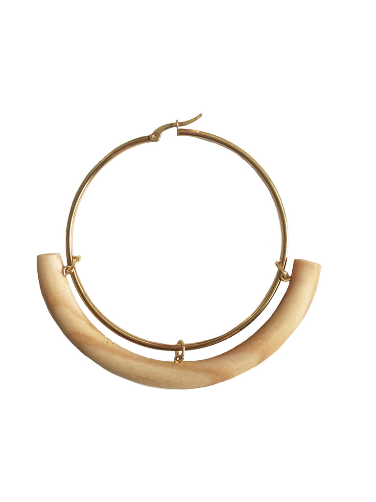 Circular Hoops - Earrings - MODE Revolution -Sustainable Fashion