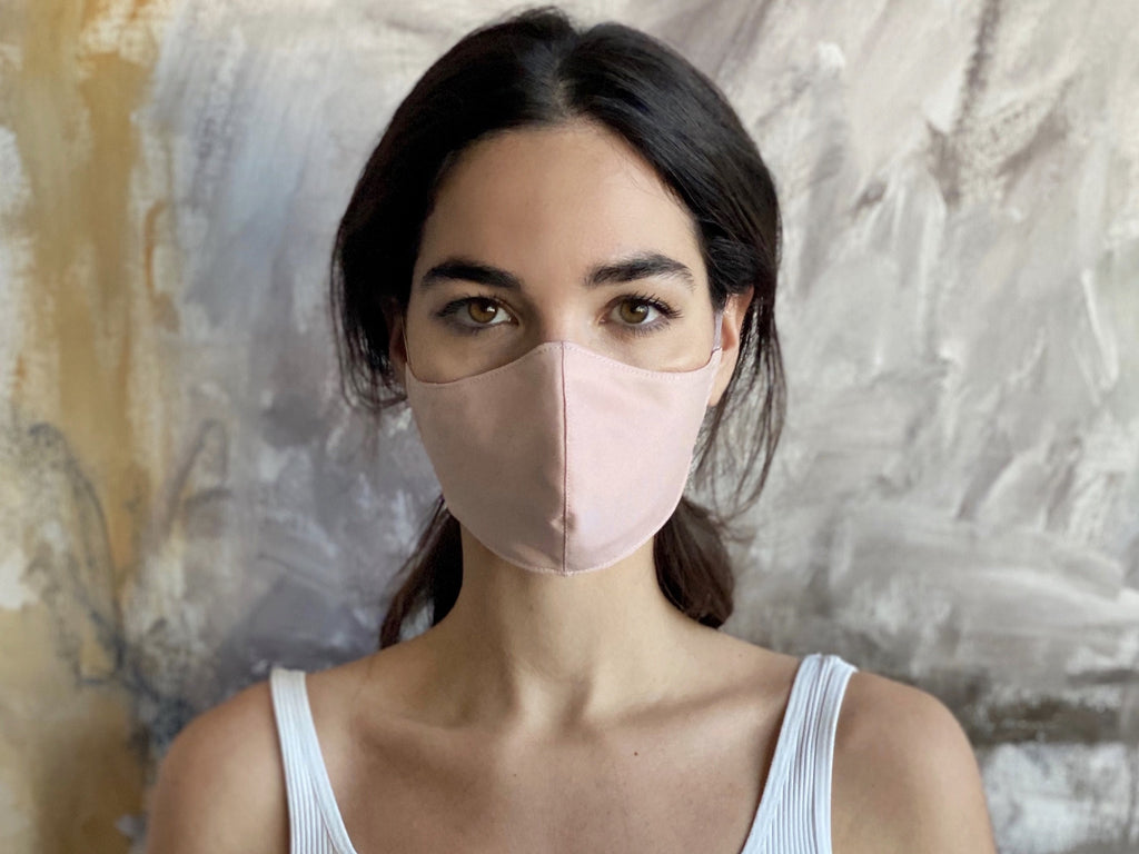 Silky Face Mask -  - MODE Revolution -Sustainable Fashion