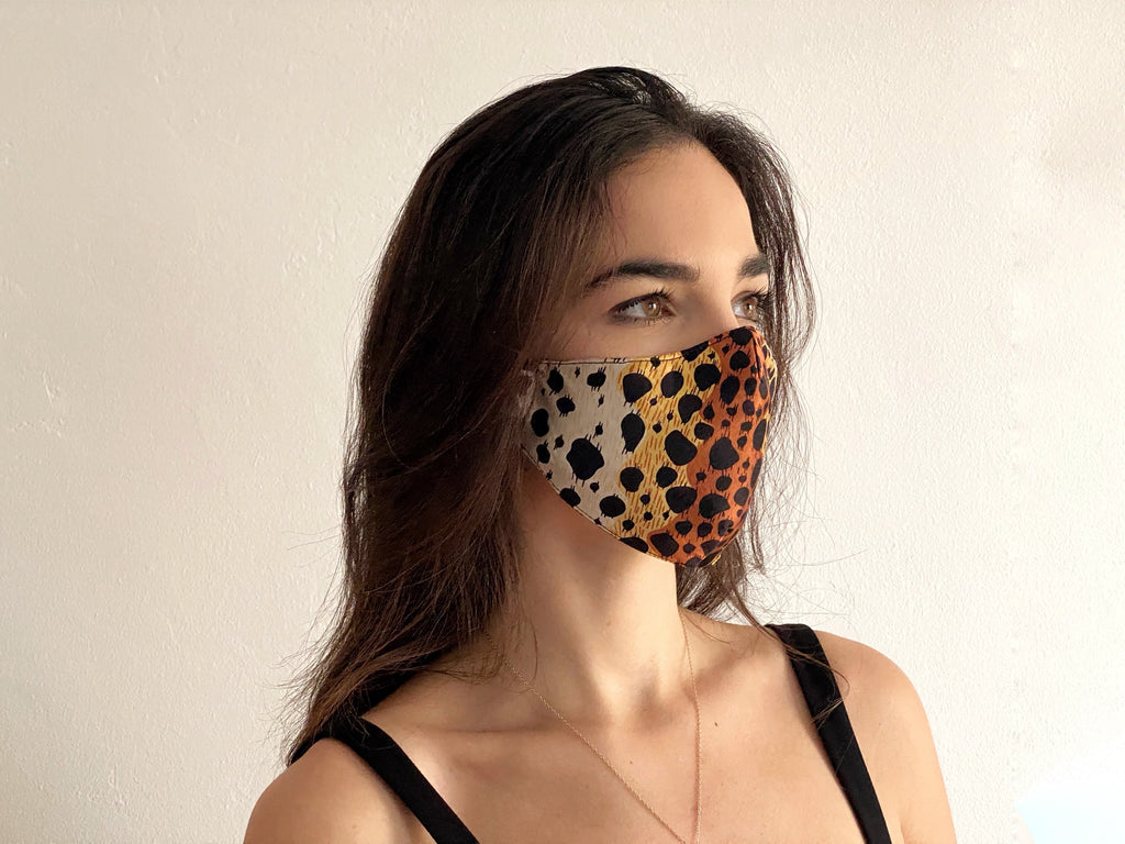 Leopard Mask -  - MODE Revolution -Sustainable Fashion