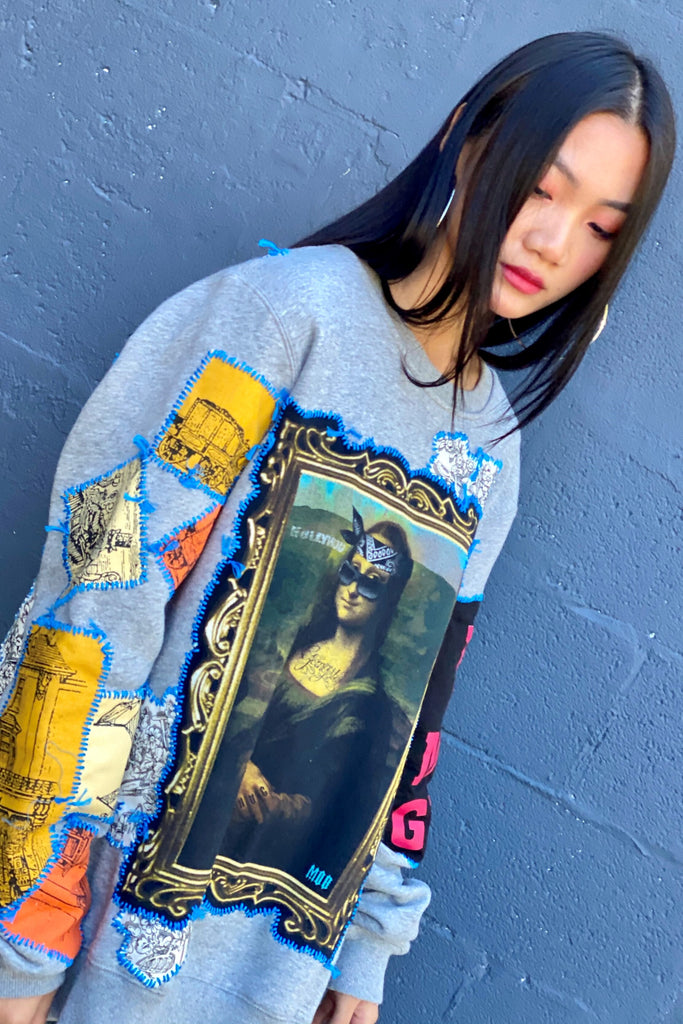 Mona Gangsta Sweatshirt -  - MODE Revolution -Sustainable Fashion