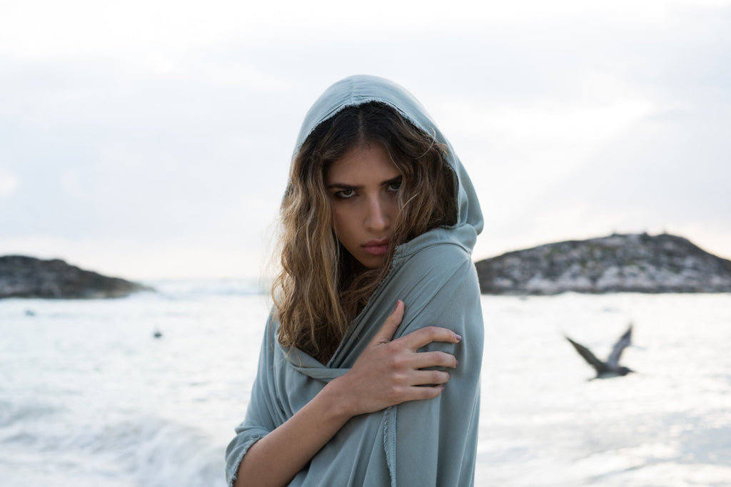 Messenger Poncho - Beachwear - MODE Revolution -Sustainable Fashion