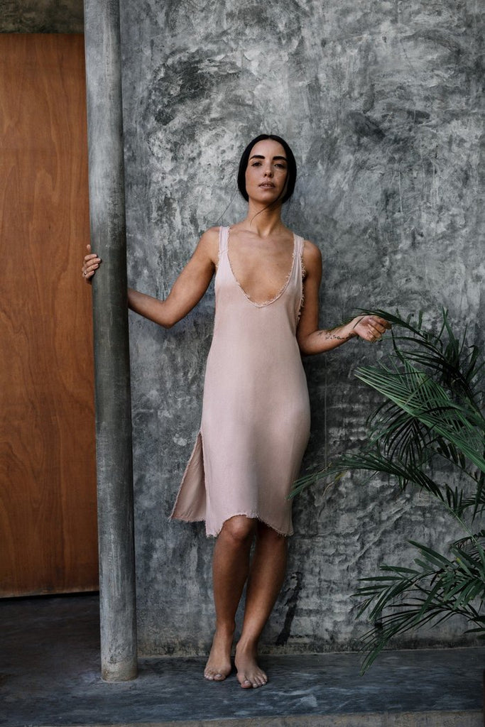 Piedra Slip Dress -  - MODE Revolution -Sustainable Fashion