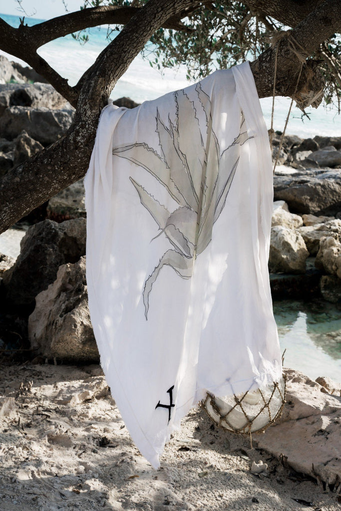 Agave Wrap - Beach Wrap - MODE Revolution -Sustainable Fashion