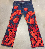 Orange Garden Jeans -  - MODE Revolution -Sustainable Fashion