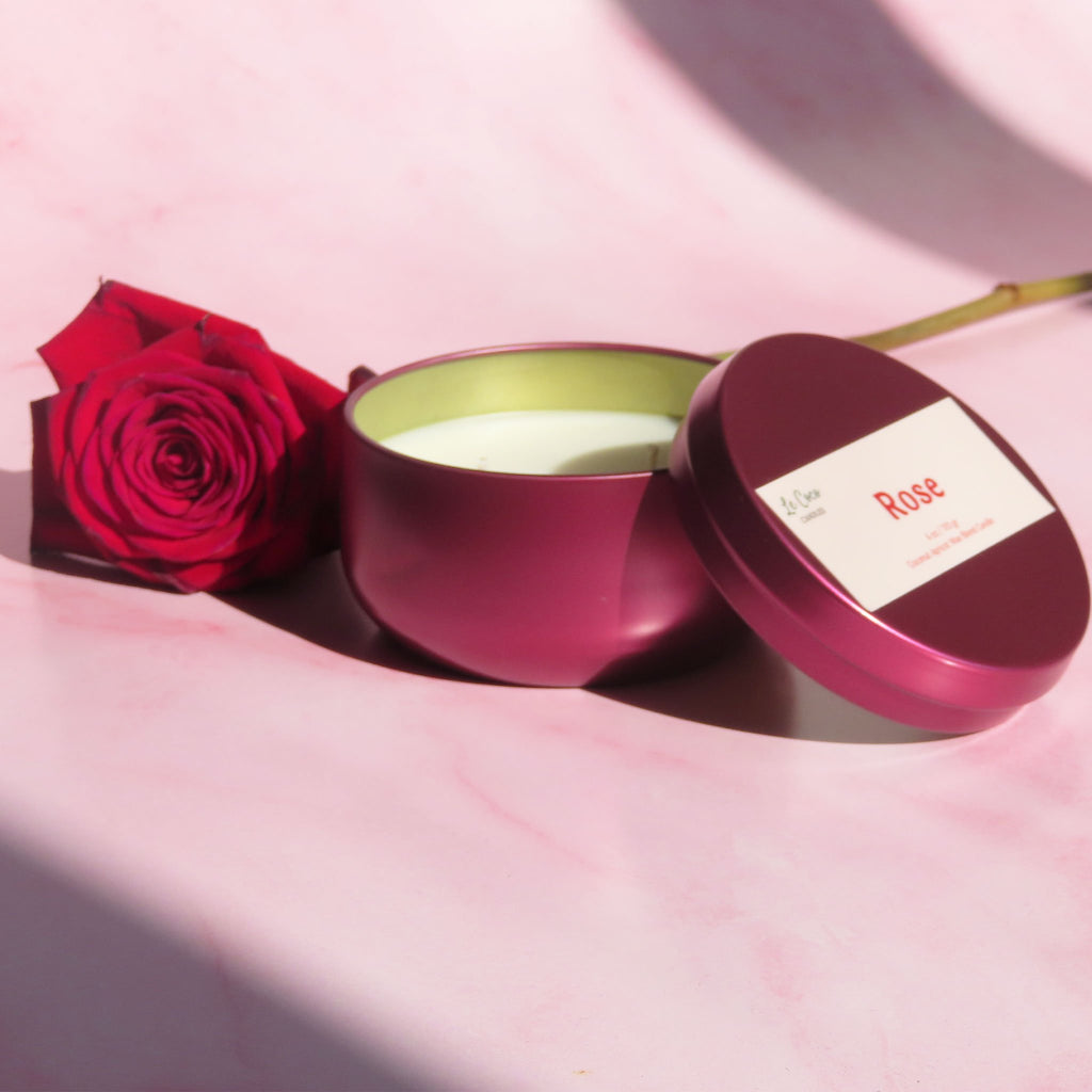 Rose - candle - MODE Revolution -Sustainable Fashion