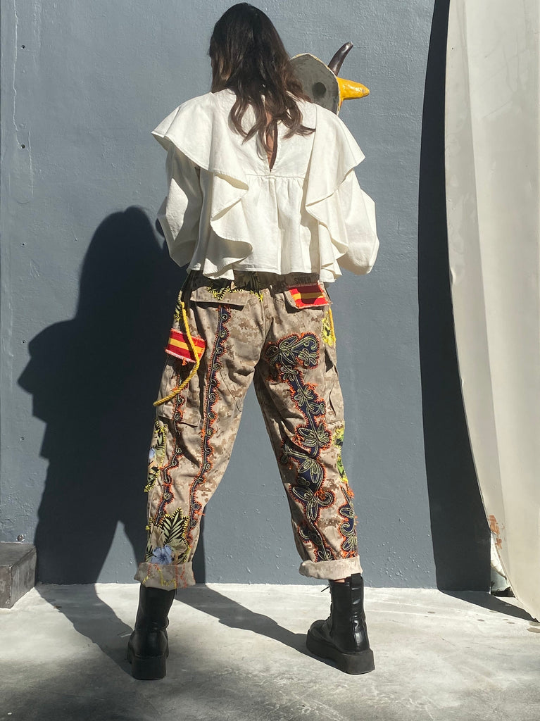 Smith Camo Pant -  - MODE Revolution -Sustainable Fashion