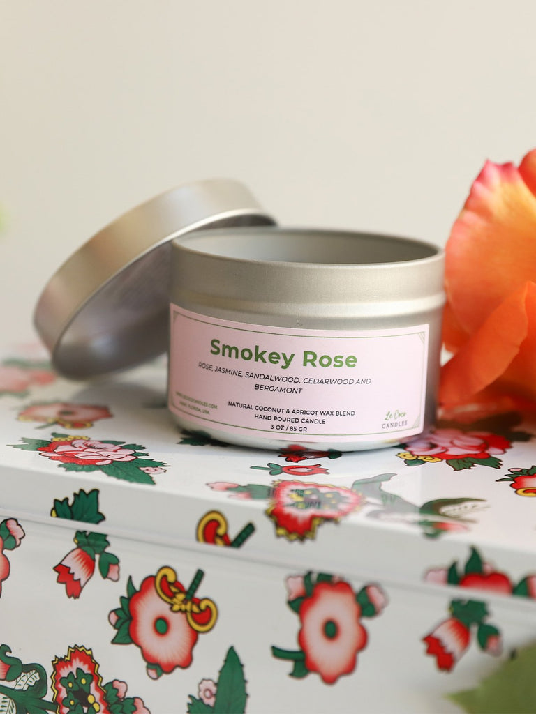 Smokey Rose - candle - MODE Revolution -Sustainable Fashion