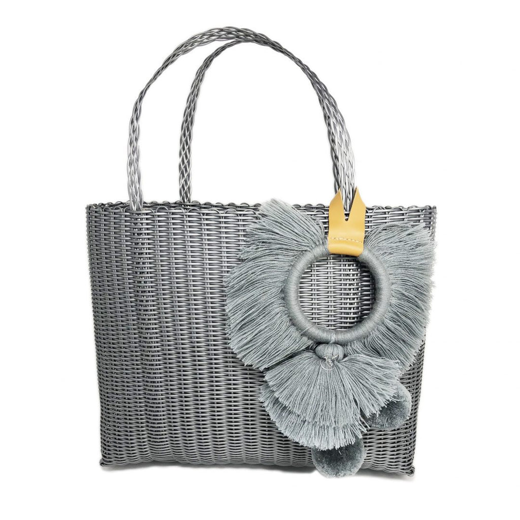Almita Tonati Tote Silver -  - MODE Revolution -Sustainable Fashion