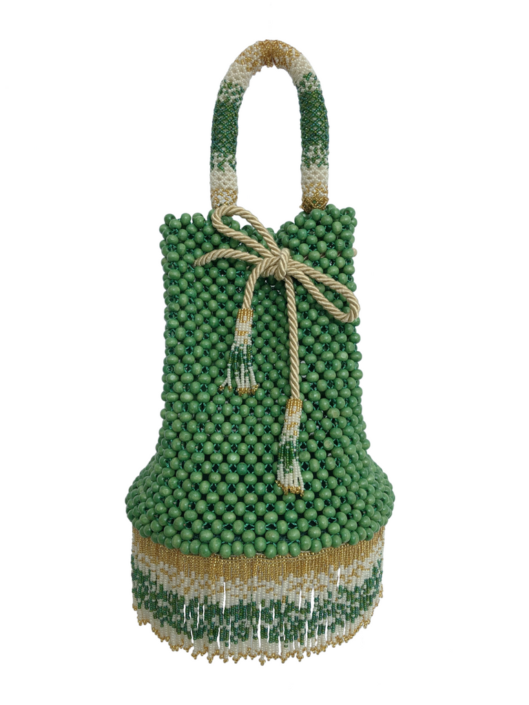 Green Waterfall Handbag - Handbag - MODE Revolution -Sustainable Fashion