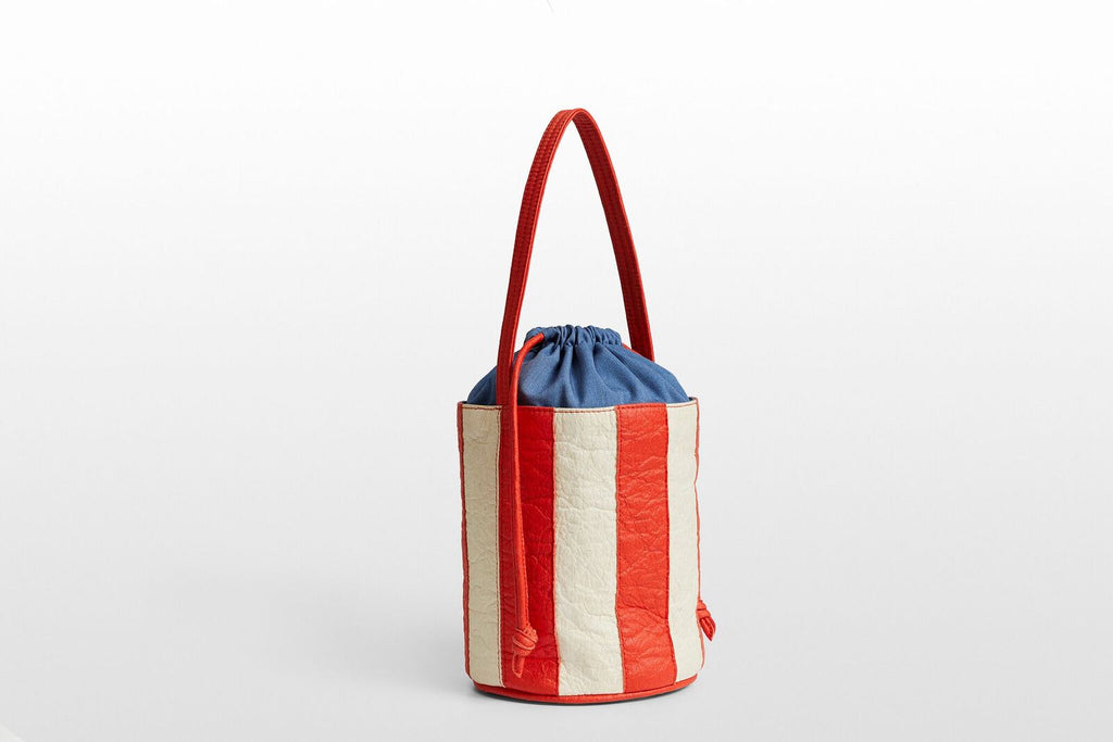 Bucket Stripe • Flamme+ Natural -  - MODE Revolution -Sustainable Fashion