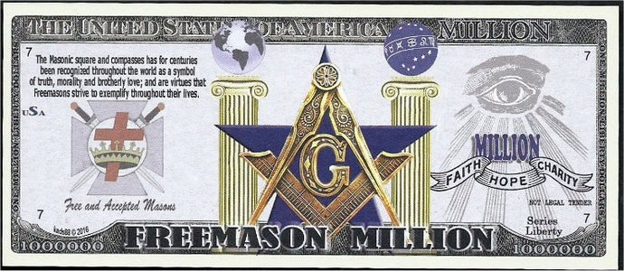 4.4. (25) Freemason, Masonic collectors bill