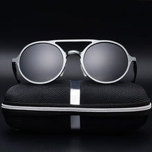 Load image into Gallery viewer, Bruno Dunn | Retro Aluminum Sunglasses | Black - Tienda Coconut