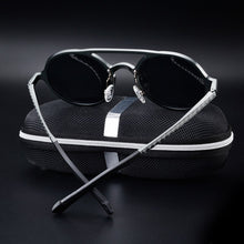 Load image into Gallery viewer, Bruno Dunn | Retro Aluminum Sunglasses | Space Grey - Tienda Coconut