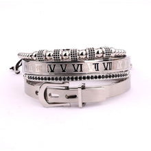Load image into Gallery viewer, Roman Collection | Luxury Bead Bracelet for Men | Silver - Tienda Coconut