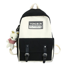 Load image into Gallery viewer, Women Backpack For College Black Colour - Tienda Coconut