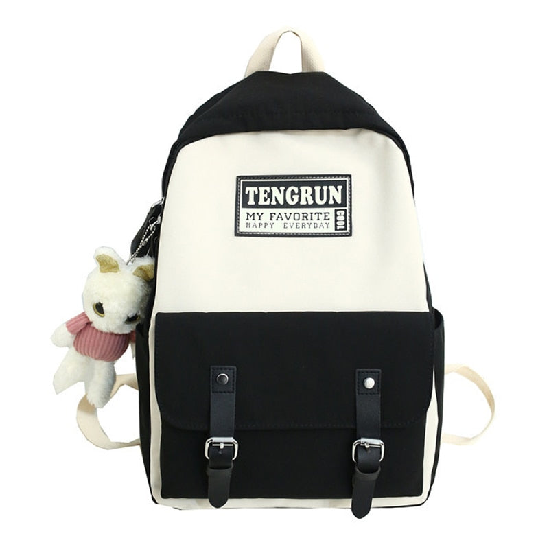 Women Backpack For College Black Colour - Tienda Coconut