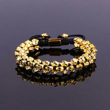 Load image into Gallery viewer, Skull Charm | Luxury Bracelet | Gold - Tienda Coconut