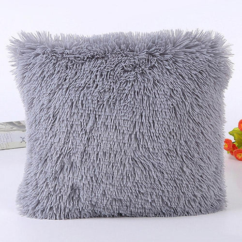 Cashmere Pillowcase Short Plush Pillow