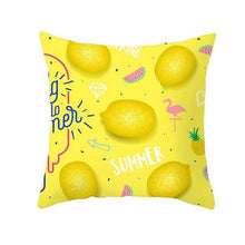 Load image into Gallery viewer, Fruit Cushion Pillowcase Cover Coconut