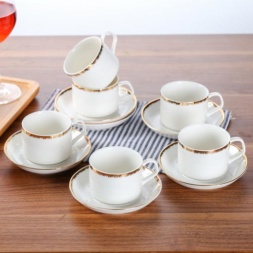 Ceramic Coffee Cup Saucer Sets